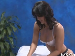 Girl with nice ass gives massage