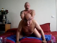 nasty old gay dudes in an amateur video suck the D