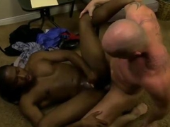 black dude gets to be fucked and rammed real hard